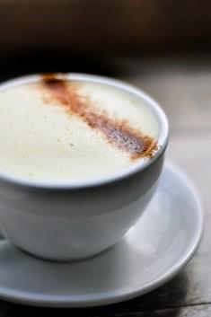 Turmeric Latte, Pumpkin Brown