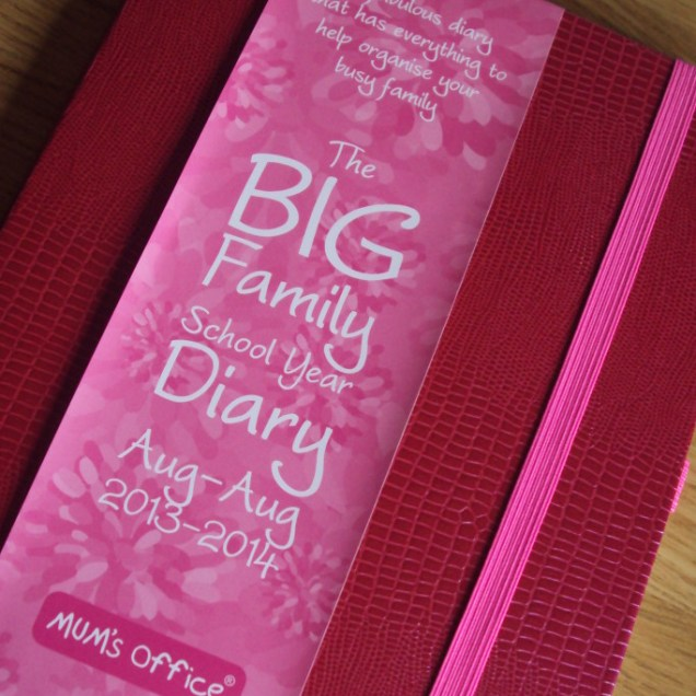 The Big Family School Year Diary 2013 - 2014