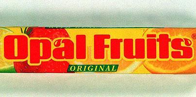 Opal fruits (Starburst)