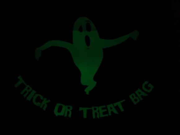 glowing bag