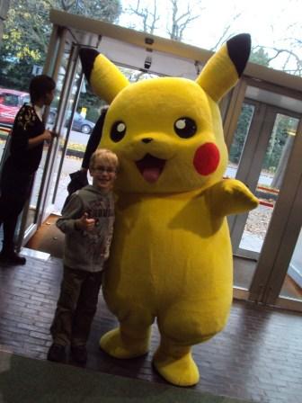 Meeting Pikachu