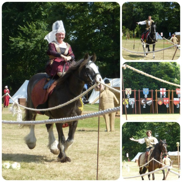 jousting starts at arundel castle