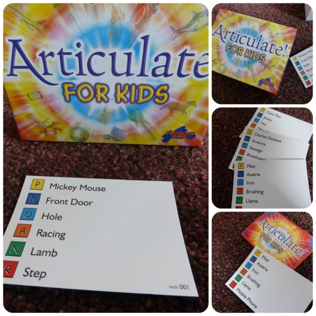 example of articulate for kids