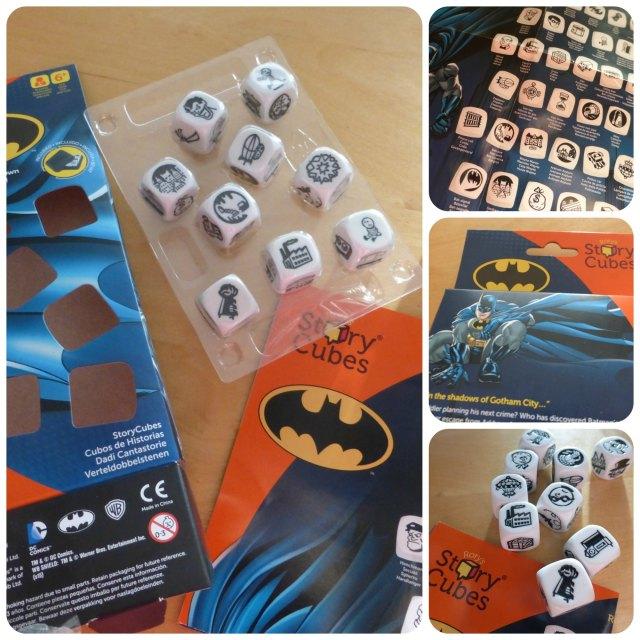 batman edition story cubes