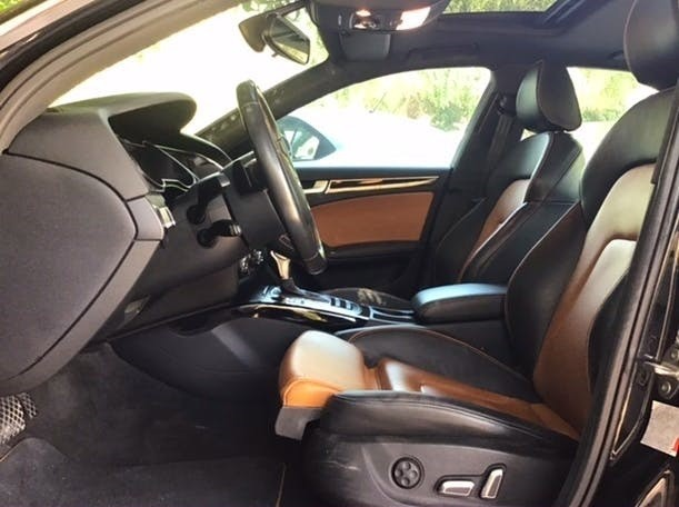 Audi A4, Quattro 2.0L Turbo, S-Line, Full Option, GCC Specs. full