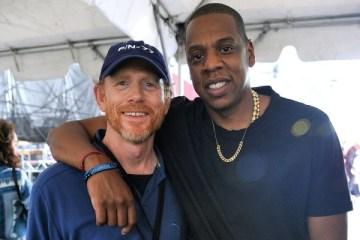 Ron Howard and Jay Z