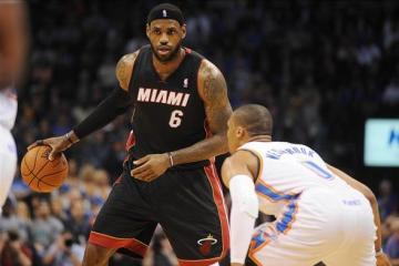 LeBron James, King James, Kevin Durant, Heat, Thunder