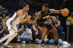 LeBron James, Miami, Thunder, Heat, NBA