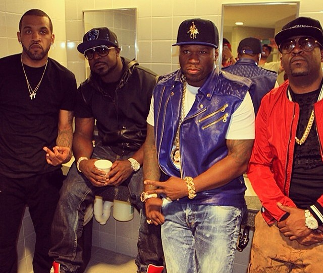 50 Cent G Unit Reunion First Show Webster Hall June 8th