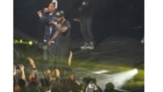 Jay Z stage