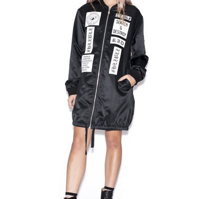 hlzblz, hellzbellz, womens streetwear, los angeles, miss lawn, search and destroy bomber jacket, her source vices, eyepissglitter