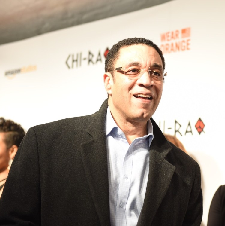 Harry Lennix - 'Chi-Raq' World Premiere, Chicago, November 22, 2015, The Chicago Theater Photo credit: Juan Anthony Images