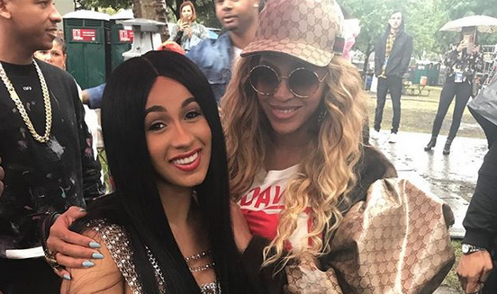 Cardi B and Beyonce Are Not Working on a Song Together