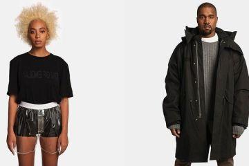 Kanye West and Solange Model in Helmut Lang's Ad Campaign