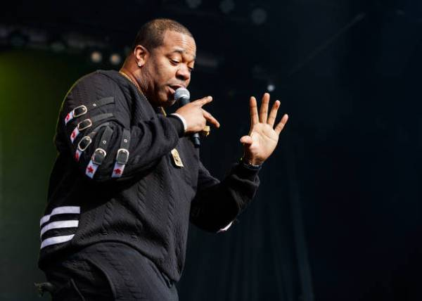 Busta Rhymes Performs at NJ Governor-Elect's Pre-Inaugural ...
