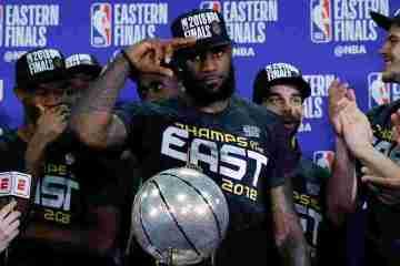 """Cleveland Cavaliers Rap Meek Mill """"Dreams & Nightmares"""" in Lockeroom After Game 7 Victory"""