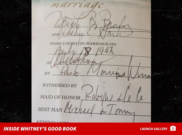 Whitney Houston's Bible is on Sale for $95K