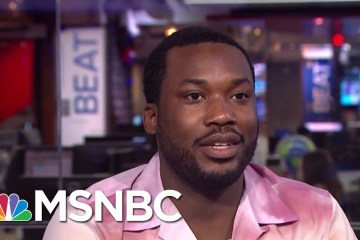 Meek Mill Discusses Prison Reform With MSNBC's Ari Melber