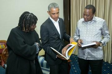 Barack Obama Visits Kenya to Promote Local Charity