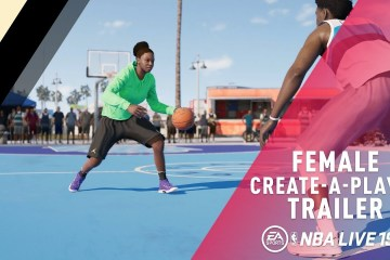 Ladies Got Next: 'NBA Live 19' to Feature Female Create a Player Mode