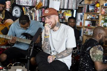 [Watch] Mac Miller Teams Up with Thundercat to Perform on NPR's Tiny Desk Concert Series