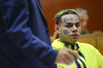 6ix9ine Facing One to Three Years in State Prison