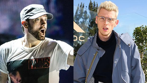 """Machine Gun Kelly Calls Eminem's """"Killshot"""" Diss Trash"""