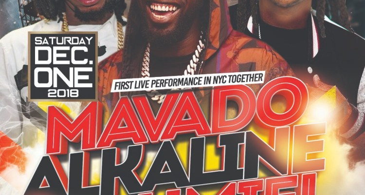 Dancehall MVP's, Mavado, Alkaline, Jahmiel, Will Share a Stage in NYC for the First Time