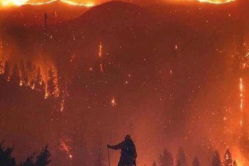 Death Total in Wildfires Reaches 42, Making This The Worst in California History