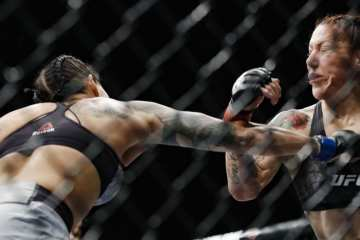 Amanda Nunes Shocks MMA World By Knocking Out Cyborg in Just 51 Seconds