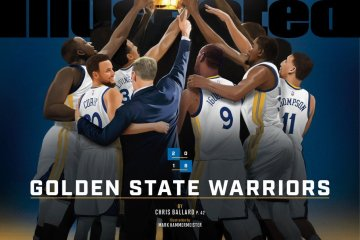 Sports Illustrated Name the Golden State Warriors 'Sportsperson of the Year'