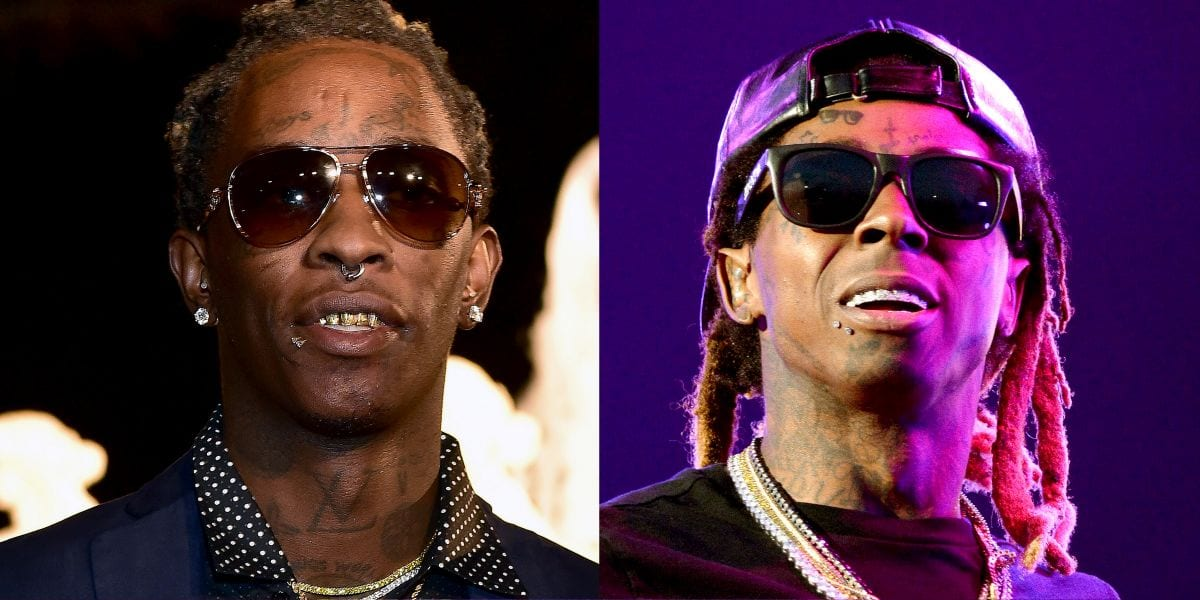 Young Thug Says Lil Wayne Is Suing For Barter 7 Z 107 9