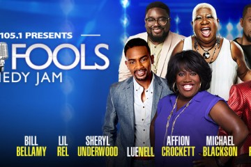 Power 105.1 Presents April Fools Comedy Jam Hosted by Rip Micheals