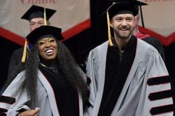 Missy Elliott, Justin Timberlake Receive Honorary Doctorates From Berkley College
