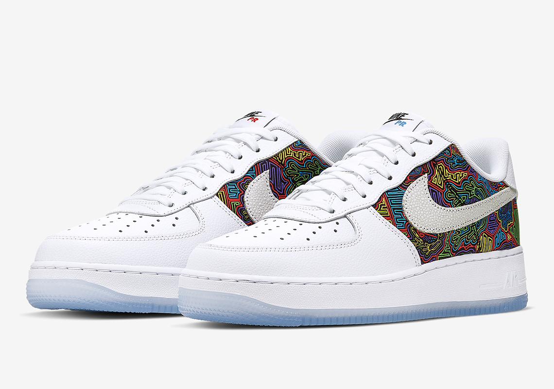 Make It Rain In This New Colorway Of The Nike Air Force 1