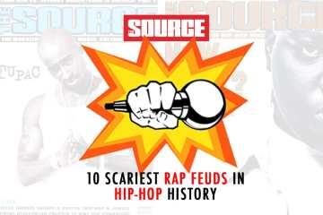 10 Scariest Rap Feuds in Hip-Hop History