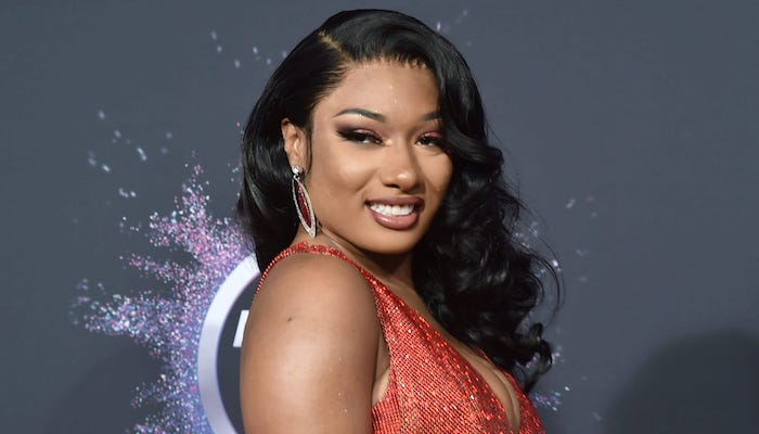 The source    Megan Thee Stallion Takes Criticism From Kodak Black And Producer