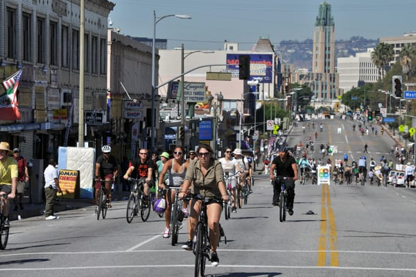 From: A few pics from CicLAvia