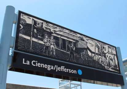 "La Cienega/Jefferson Station: Daniel Gonzalez, ""Engraved in Memory"""