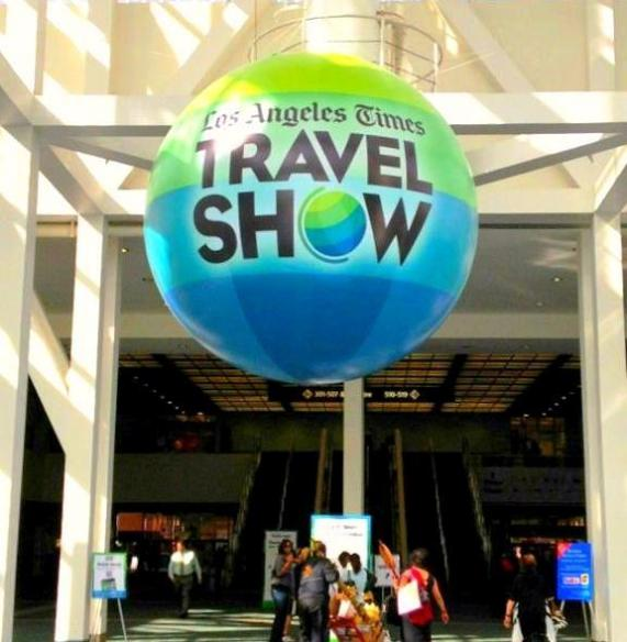 Photo from LA Times Travel Show Official Facebook