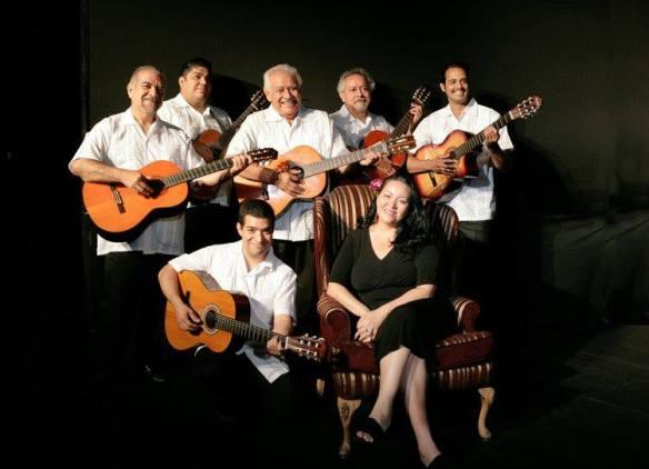 """The crew of """"Trio Los Machos"""" is ready to entertain! Photo: Casa 0101 Official Facebook"""
