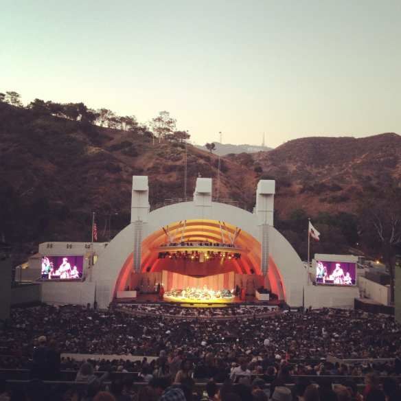 The Hollywood Bowl on a warm summer night. Photo by Chloe Rodriguez/Metro.
