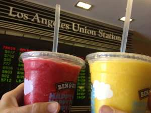 Ben & Jerry's smoothies. Photo by Anna Chen