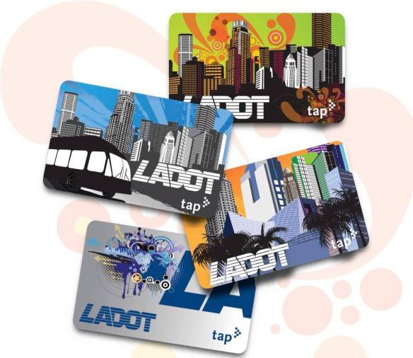 Your design could be the next one featured! Photo: LADOT TAP Card Official Facebook
