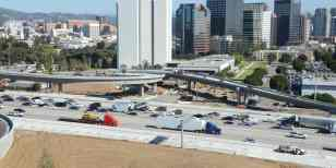 The new ramp is at left. Photo by Ned Racine/Metro.