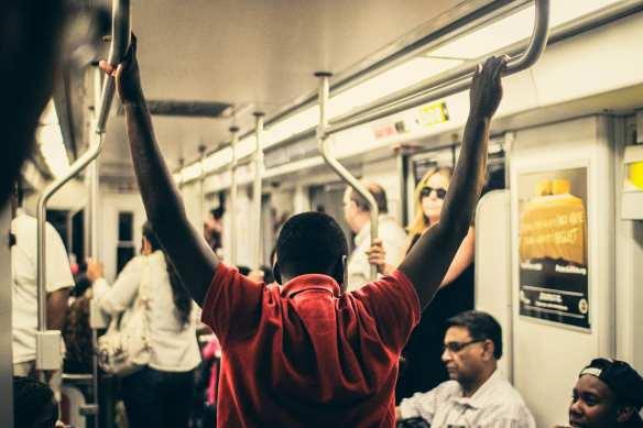 ART OF TRANSIT: Nice pic taken last month on the Blue Line. Photo courtesy Matthew Grant Anson, via Flickr.