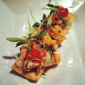 Chef's ceviche via Redwhite+bluezz's Facebook page.