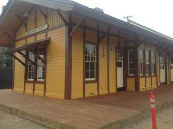 The renovated Lankershim Depot. Photos by Metro.