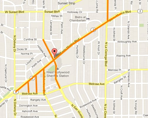 Halloween Street Closures Los Angeles 2020 For those going Metro to the West Hollywood Halloween Carnaval