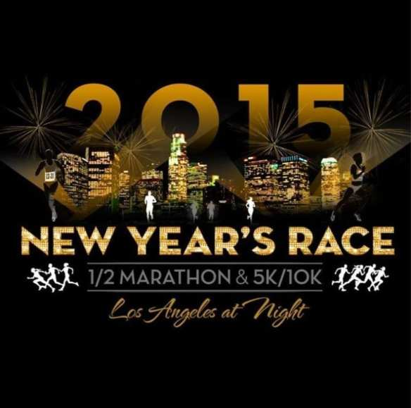 Photo via New Year's Race Los Angeles offical Facebook.